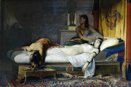La tumba de Cleopatra, más cerca