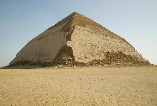 La piramide inclinada admitira visitantes