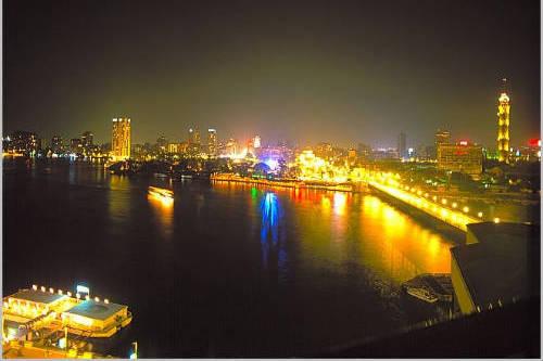 Vida nocturna de El Cairo