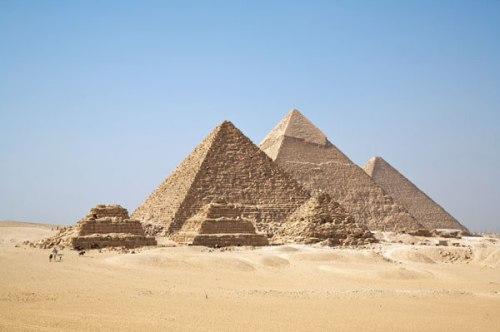 Las piramides egipcias