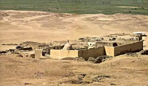 Monasterio de San Gabriel, en El Fayum
