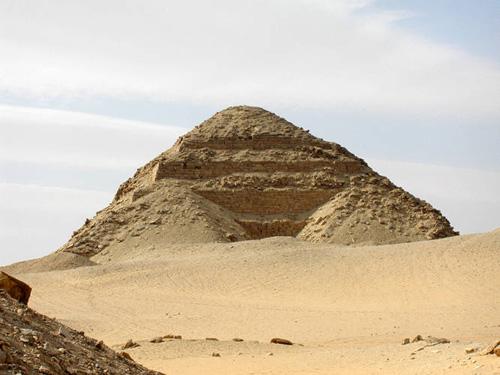La piramide de Neferirkare, en Abusir