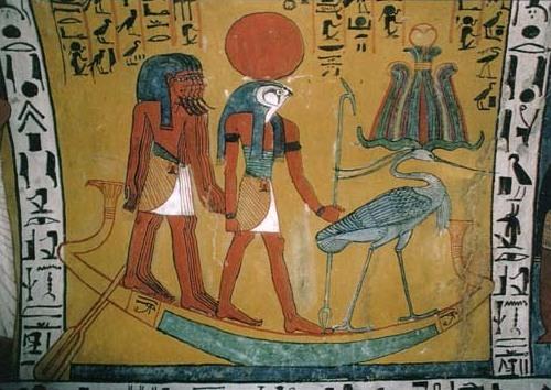 Ra, dios solar de Egipto