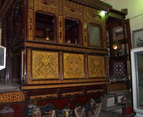 El museo del Ferrocarril, en El Cairo