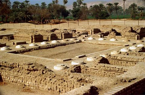 Palacio Norte de Amarna