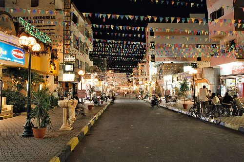 El casco antiguo de Hurghada