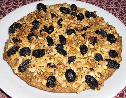 Receta de Maskina, tarta egipcia de frutos secos