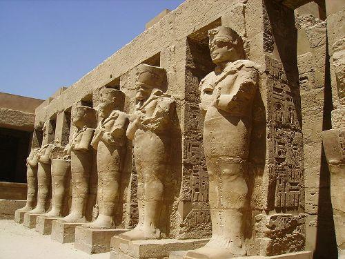 Los monumentos del Imperio Nuevo