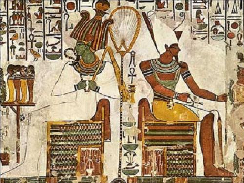 Osiris y Atum