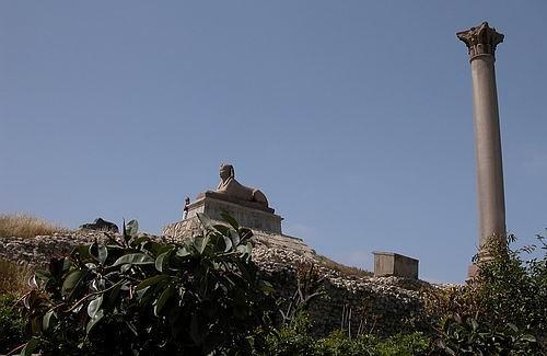El Pilar de Pompeyo en Alejandría