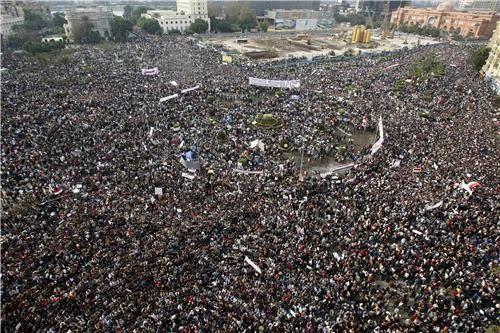 La Plaza de la Liberación de El Cairo