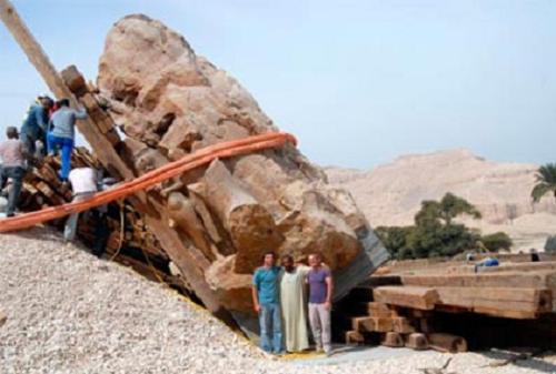 El tercer coloso de Memnón