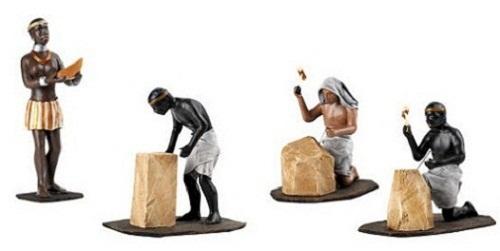 Trabajadores egipcios