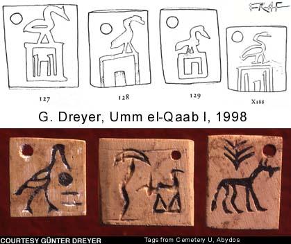 Umm el-Qaab y la escritura