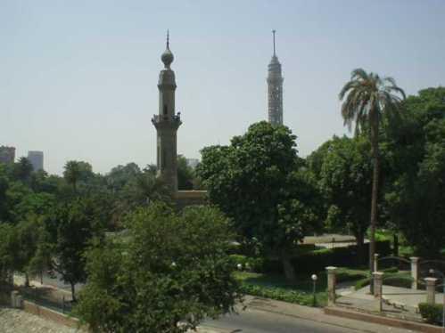 Los jardines andaluces de El Cairo