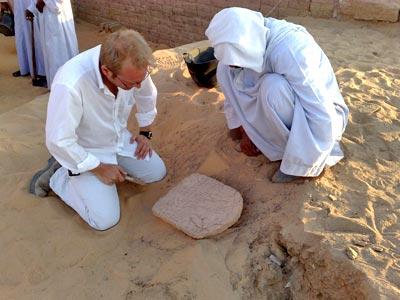 Nuevo complejo funerario en la necrópolis de Asuán