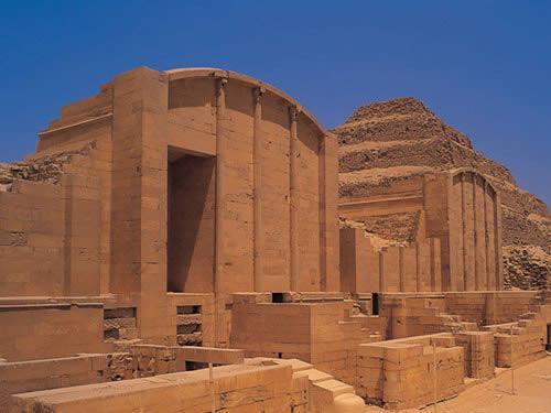 Ejemplares en la arquitectura egipcia