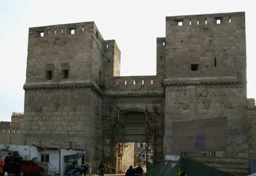 La Muralla Fatimí en el Cairo