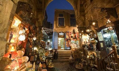Hacer compras en El Cairo
