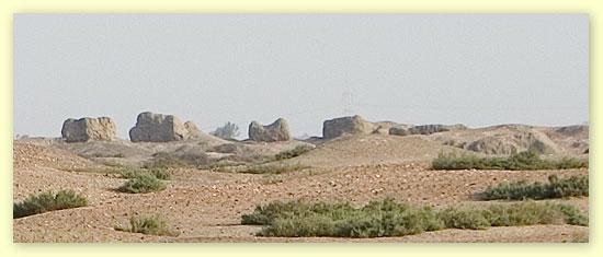 Buto y sus restos arqueológicos