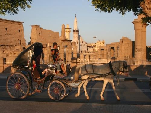 Calesa en Luxor
