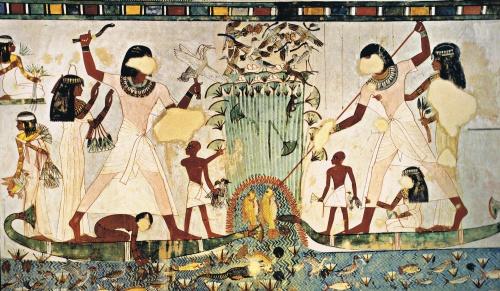Representacion del Antiguo Egipto