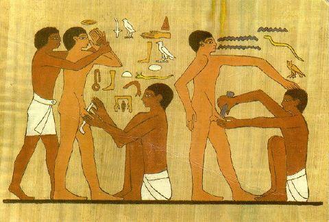 Circuncicion en el Antiguo Egipto