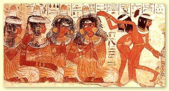 La danza funeraria en la época predinástica