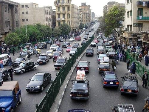 Trafico de Egipto