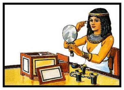 Maquillaje en Egipto
