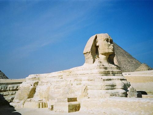 Esfinge de El Cairo