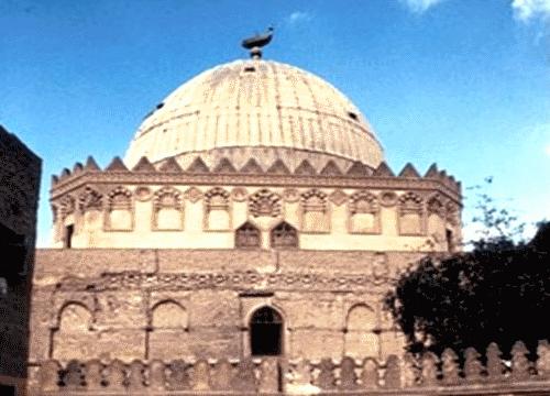 El mausoleo dei imam Al-Shafi en El Cairo