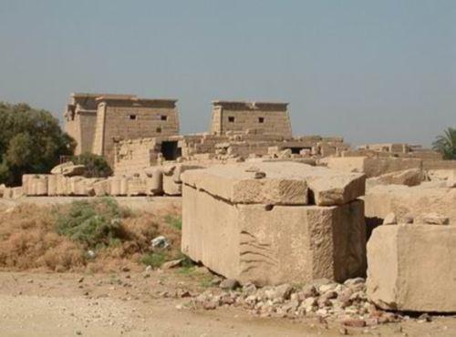 El origen del Templo de Osiris en Abidos