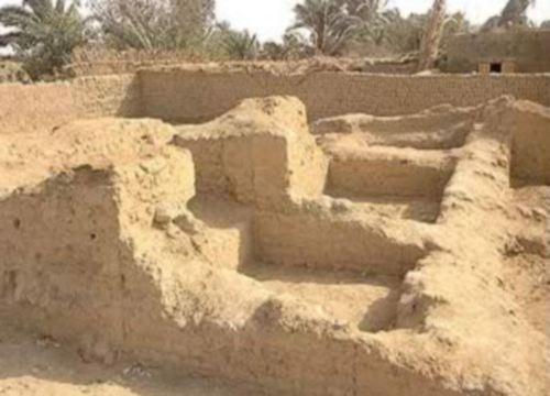El Templo de Bes en el Oasis de Bahariya