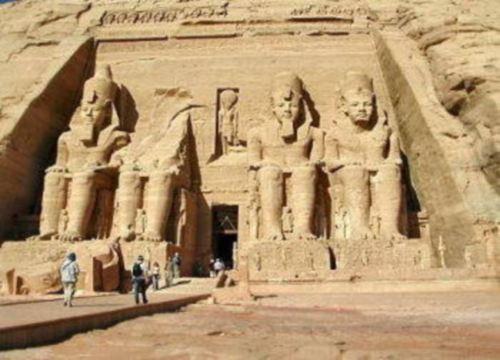 Templo de Ra Harakhte en Abu Simbel