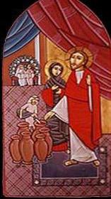 Fresco de la Iglesia de San Isaac