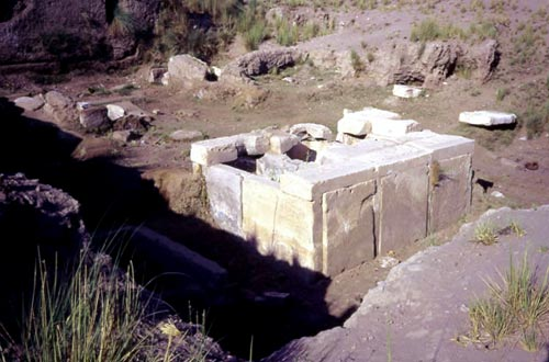 La tumba de Khety en Herakleópolis