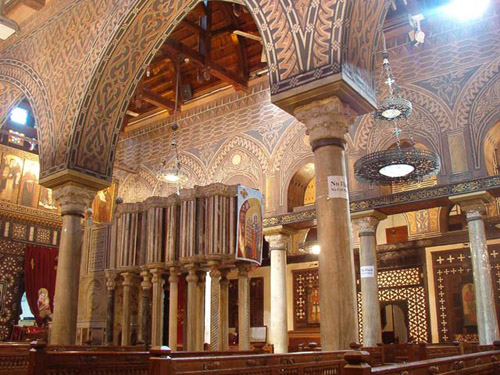 Iglesia de San Sergio en El Cairo