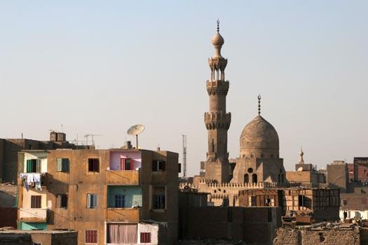 La Mezquita Al-Maridani en El Cairo