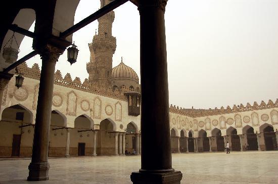 La Mezquita Ibn Tulun en el Cairo