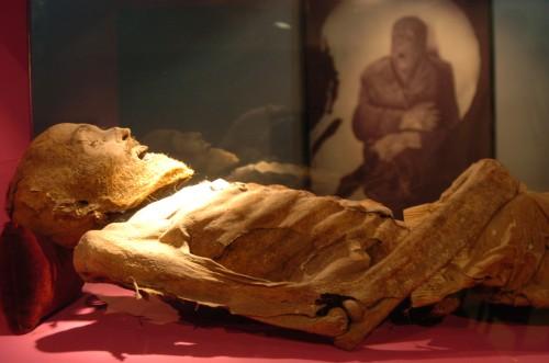 Momia. Museo de la momificación de Luxor.
