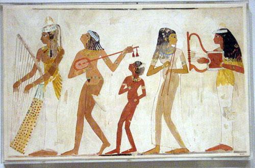 La música de Egipto
