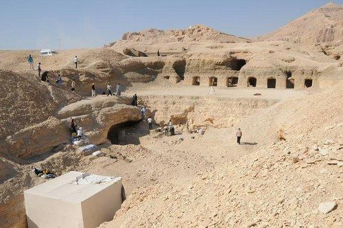 La tumba de Jeruef en El Assasif, Luxor