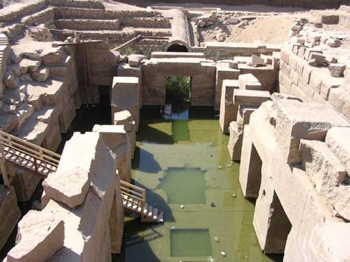 El Osereion en Abydos