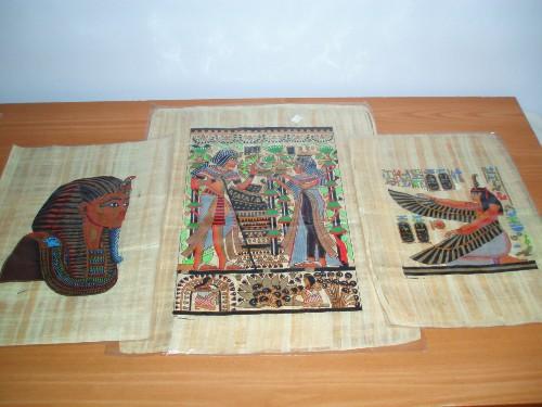 Comprar papiro en Egipto