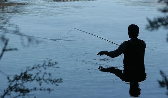 Pesca en el Lago Nasser