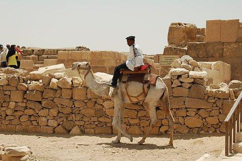La policia turistica en Egipto