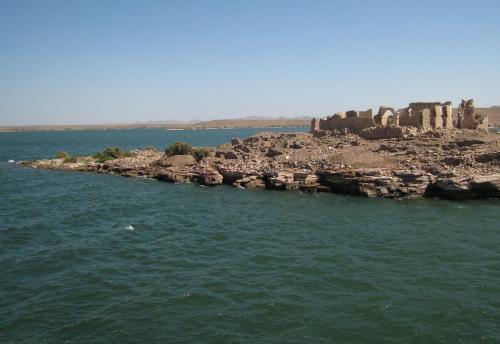 Qasr Ibrim, ciudadela sobre el Lago Nasser