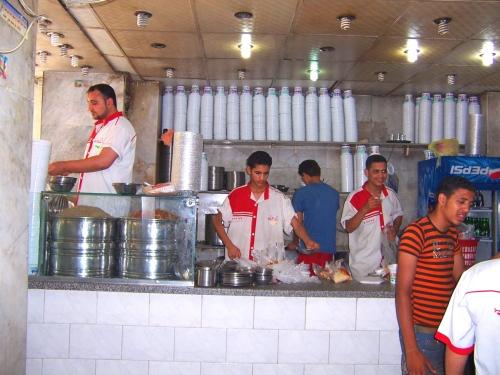 Restaurante egipcio popular