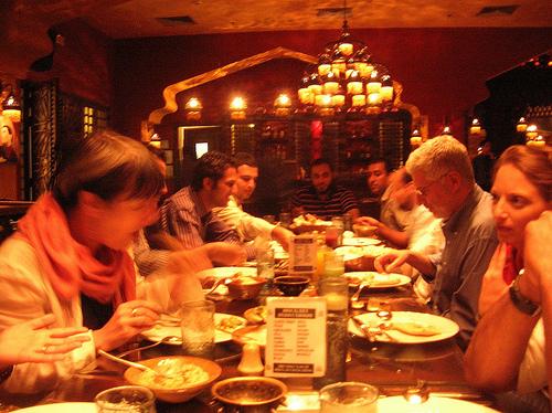 Restaurante en El Cairo